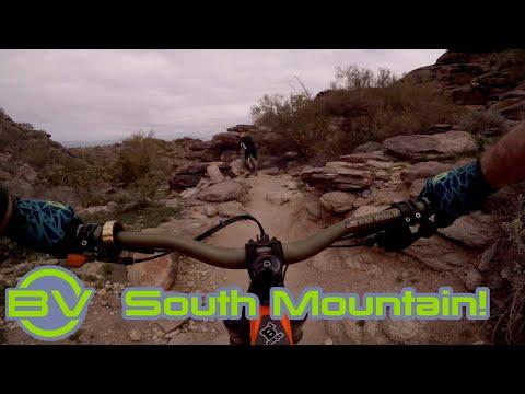So this is mountain biking! | South Mountain | Intense Spider | Phoenix, AZ