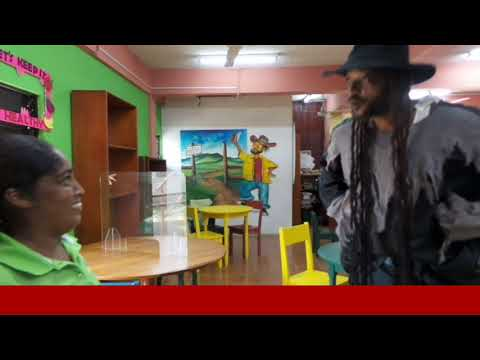 Belize National Library Service and Information System presents Anansi Discovers Port Loyola Library
