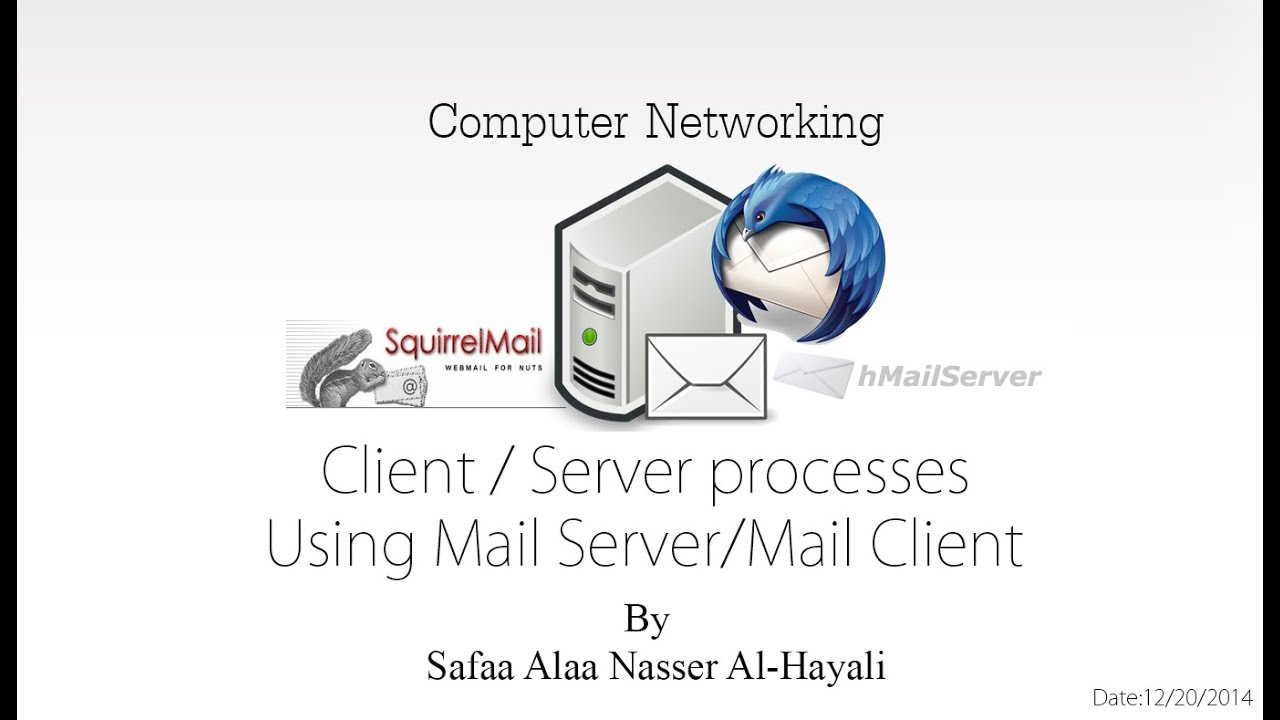 How to use hmailserver with squirrelmail and thunderbird client how to use hmailserver with squirrelmail and thunderbird clientserver processes m4hsunfo