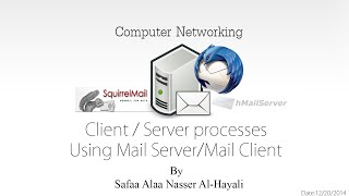 How to use hMailServer with Squirrelmail and Thunderbird (Client/Server processes)