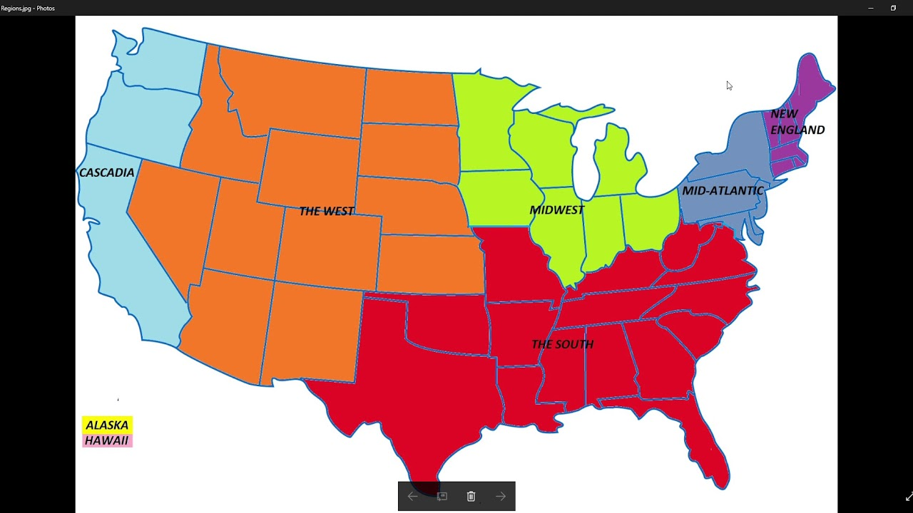 Regions Of The US Midwest And Discussion About Charlottsville - Map us midwest