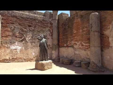The 25BC UNESCO Roman City of Merida, Spain