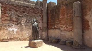 The 25BC UNESCO Roman City of Merida, Spain
