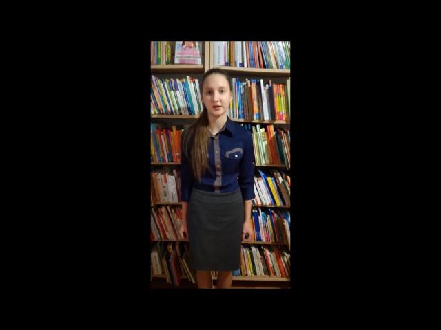 Изображение предпросмотра прочтения – ЕлизаветаРоманова читает произведение «Родина» К.М.Симонова