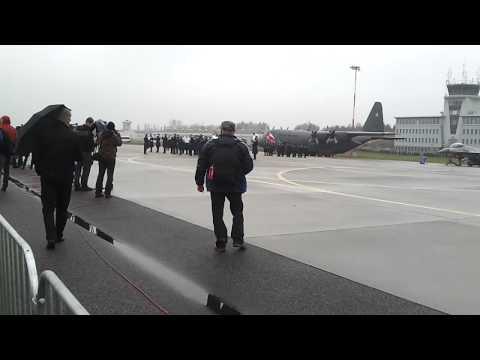 Inauguracja amerykańskiego poododdziału Aviation Detachment w Łasku