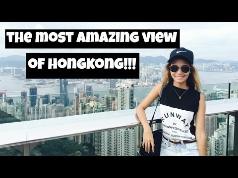 The most AMAZING VIEW of Victoria Peak | Hongkong Travel Vlog