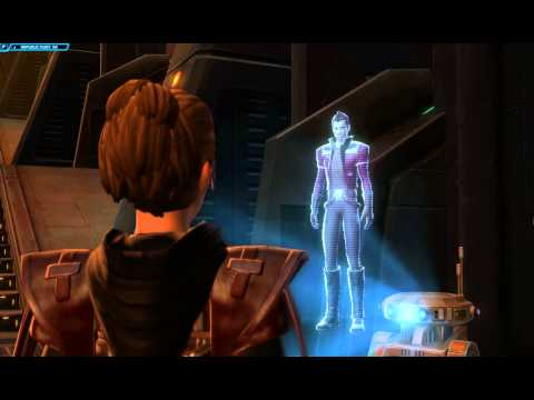 [SWTOR] Republic (Jedi Consular) Forged Alliances storyline part 01 - Classified operation