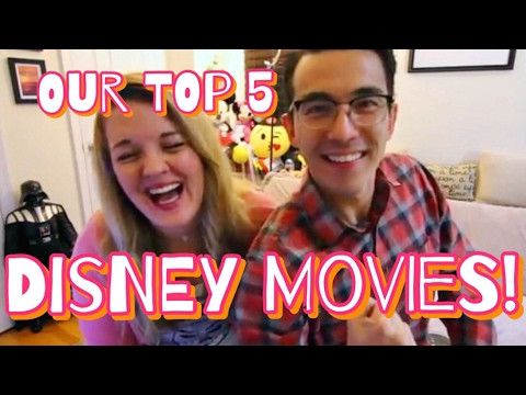 Our top 5 Disney movies!