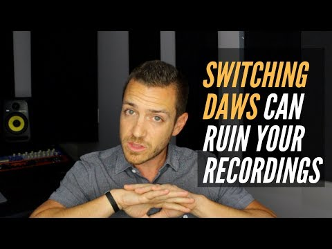Why Switching DAWs Can Ruin Your Recordings – RecordingRevolution.com
