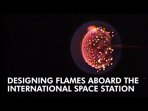 Watch: NASA astronauts build gorgeous zero-gravity fires for science