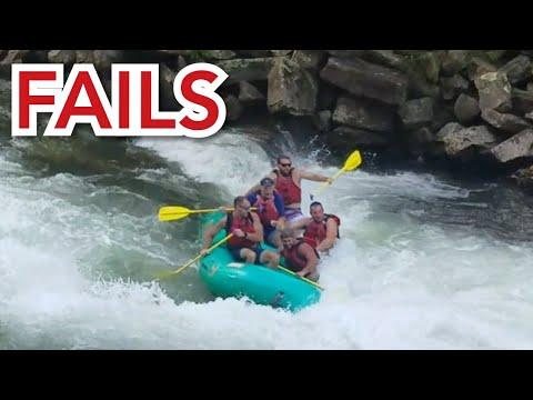 Fails! Kayak \u0026 Rafting Fail Compilation