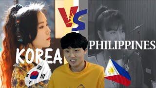 [KOREAN REACTION] Korea VS Philippines Sings Despacito | Who Sang it Better ?