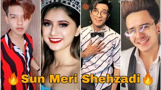 Sun Meri Shehzadi Main Hu Tera Shehzada Song Tiktok video | Riyaz, Krishna | New Tiktok Video