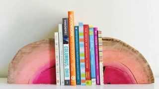 Подставка для книг своими руками. Необычное решение !