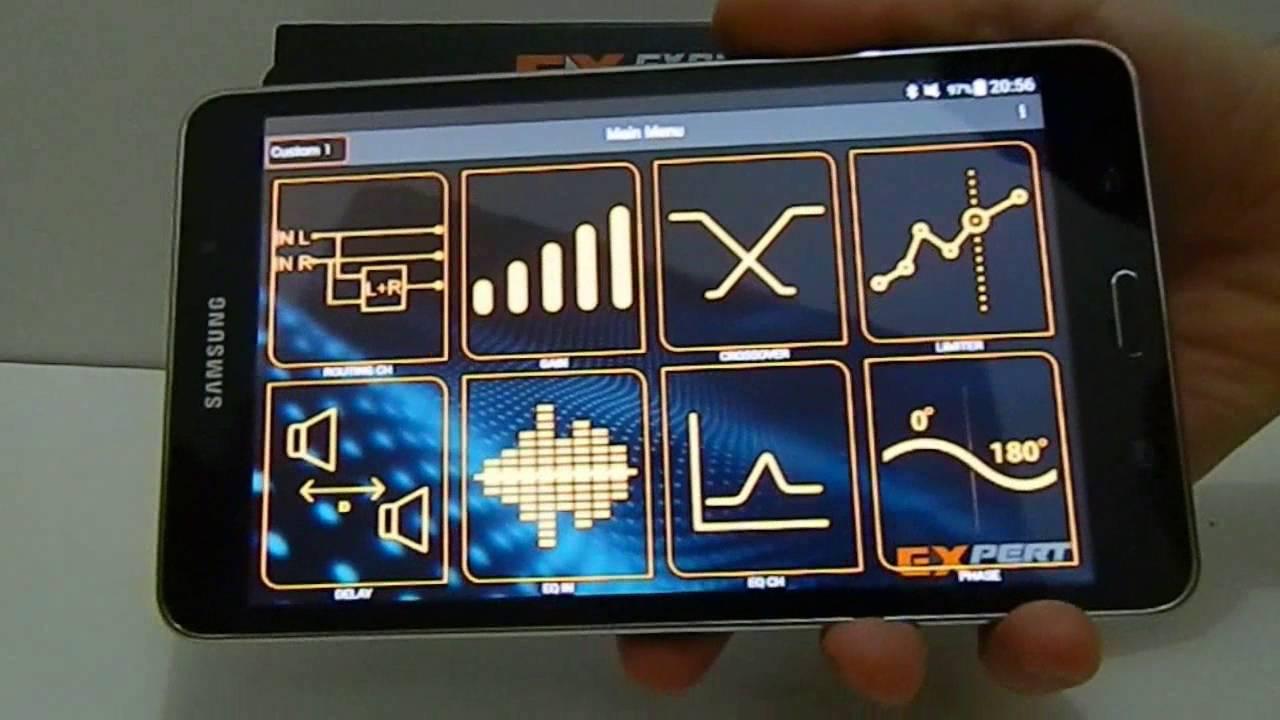 Expert Eletronics PX2 Connect Bluetooth 6 CH Equalizer Digital Audio Processor