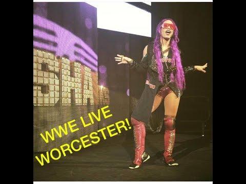 WWE Live SummerSlam Heatwave Tour - Worcester MA 08/13/17 VLOG!