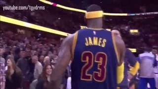 lebron james first chalk toss cleveland cavaliers return 2014