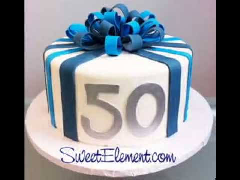 Birthday Cake Decor Ideas For Men Youtube