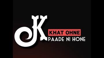 Kite Kalli || Maninder Buttar || Song WhatsApp Status Black Background
