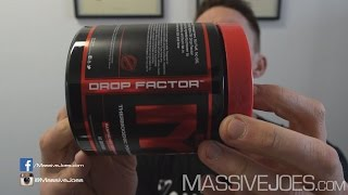 MTS Drop Factor Powder Fat Burner Thermogenic Supplement - MassiveJoes.com RAW REVIEW Australia