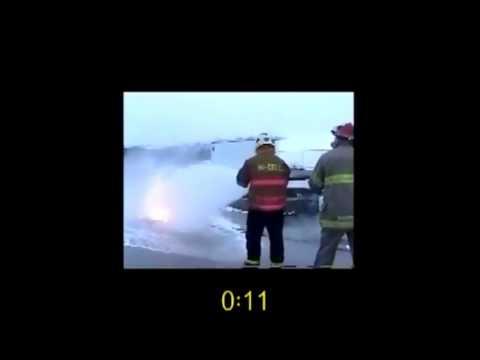 F-500 EA Quickly Extinguishes Burning Magnesium Low ENERGETECH