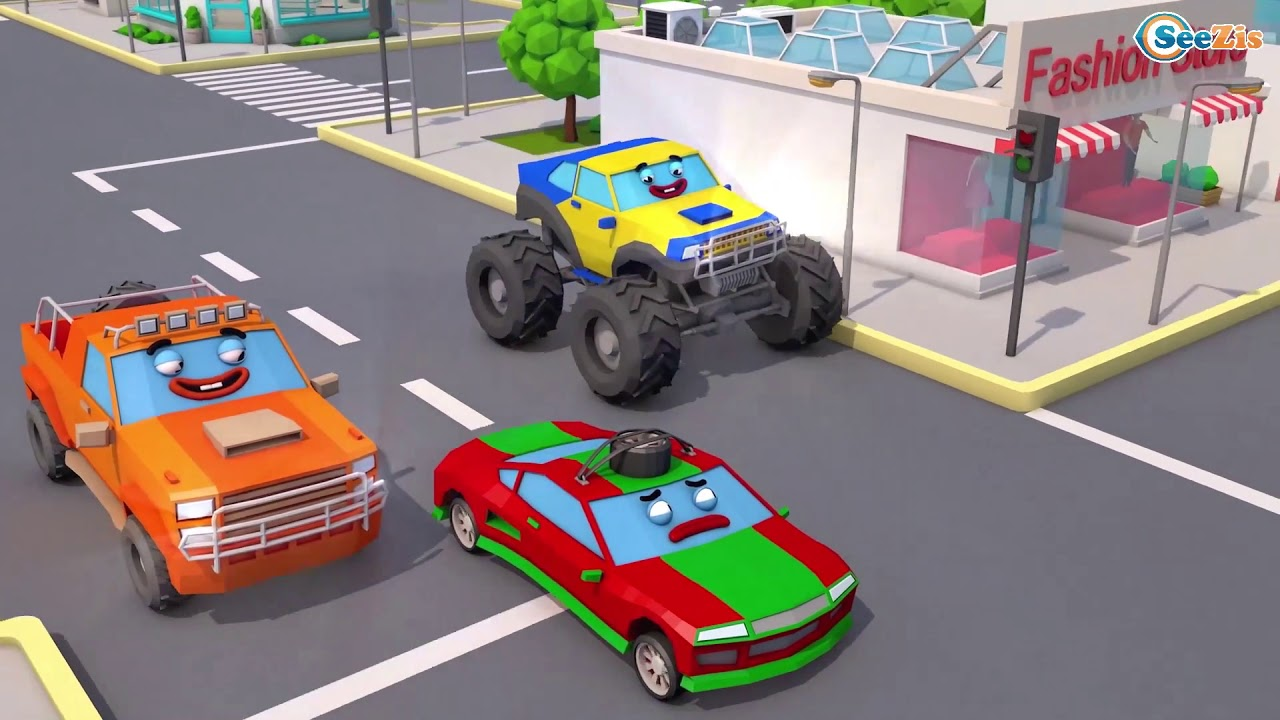 Ambulans Arabalar çizgi filmi izle Akıllı arabalar Eğitici çocuk filmi Türkçe İzle