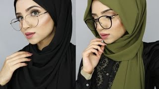 HIJAB TUTORIAL FOR GLASSES