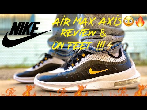 nike-air-max-axis:-university-gold/black/white/-review-&-on-feet/-cop-or-drop-?
