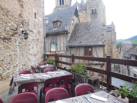 Conques -  One of The Most Beautiful Villages in France