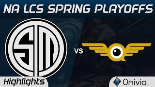 tsm vs fly highlights game 3 na lcs spring playoffs 2017 team solo mid vs flyquest