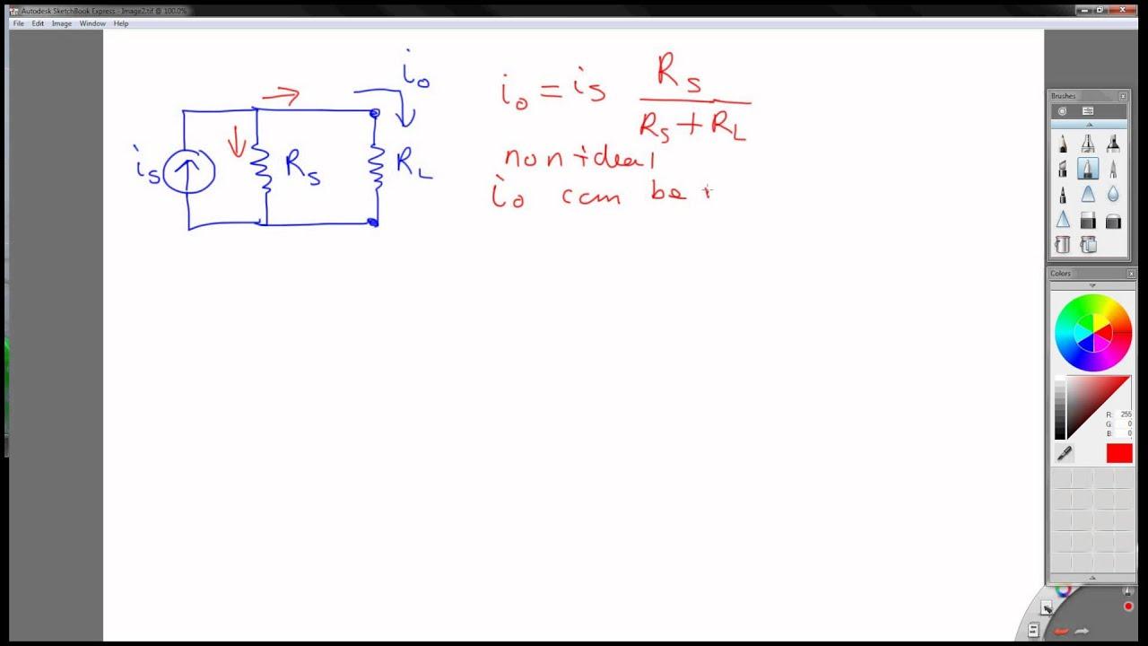 Voltage To Current Converter Op Amp Circuit