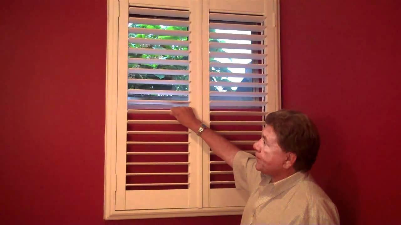 Basement Shutters by Professional Window Treatments of ...