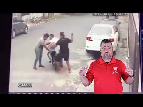 Robbers Lose Their Vehicle To A Couple Of Unwilling Victims