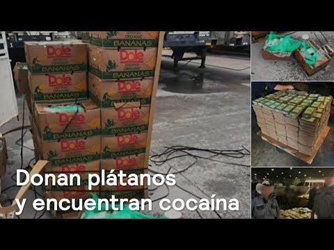 Donan plátanos y encuentran cocaína en Texas - Despierta con Loret