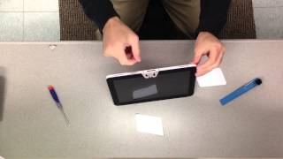 HP Elite Pad 900 Disassembly: Removing touch screen without proper tools!