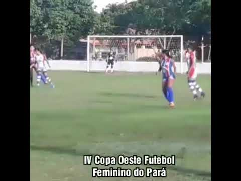 Amarildo Silva | Oriximiná 4X0 Óbidos.  IV Copa Oeste Futebol Feminino do Pará.