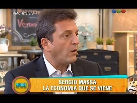 Entrevista a Sergio Massa - Morfi