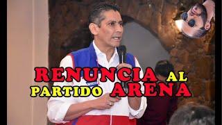 Ultima Hora Gustavo López RENUMC1A a la presidencia de ARENA