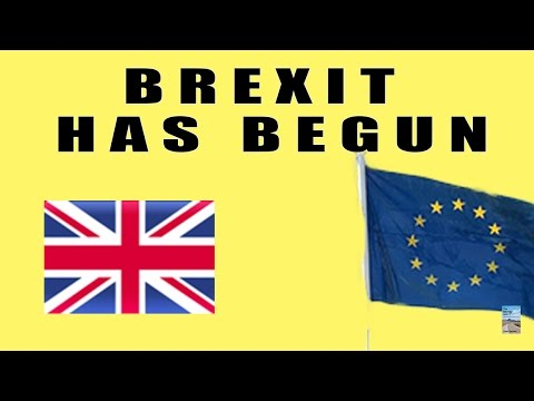 Brexit HAS BEGUN! New British PM to Repeal Law to Keep EU Out of UK!