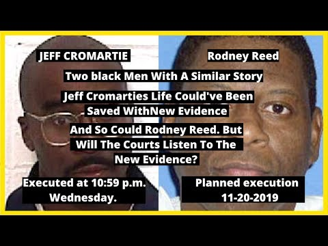 |NEWS| Rodney Reed Has Less Than Five Days Left Before He Is Executed For A Crime He Didn't Commit