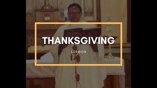 Thanksgiving Service, 2020