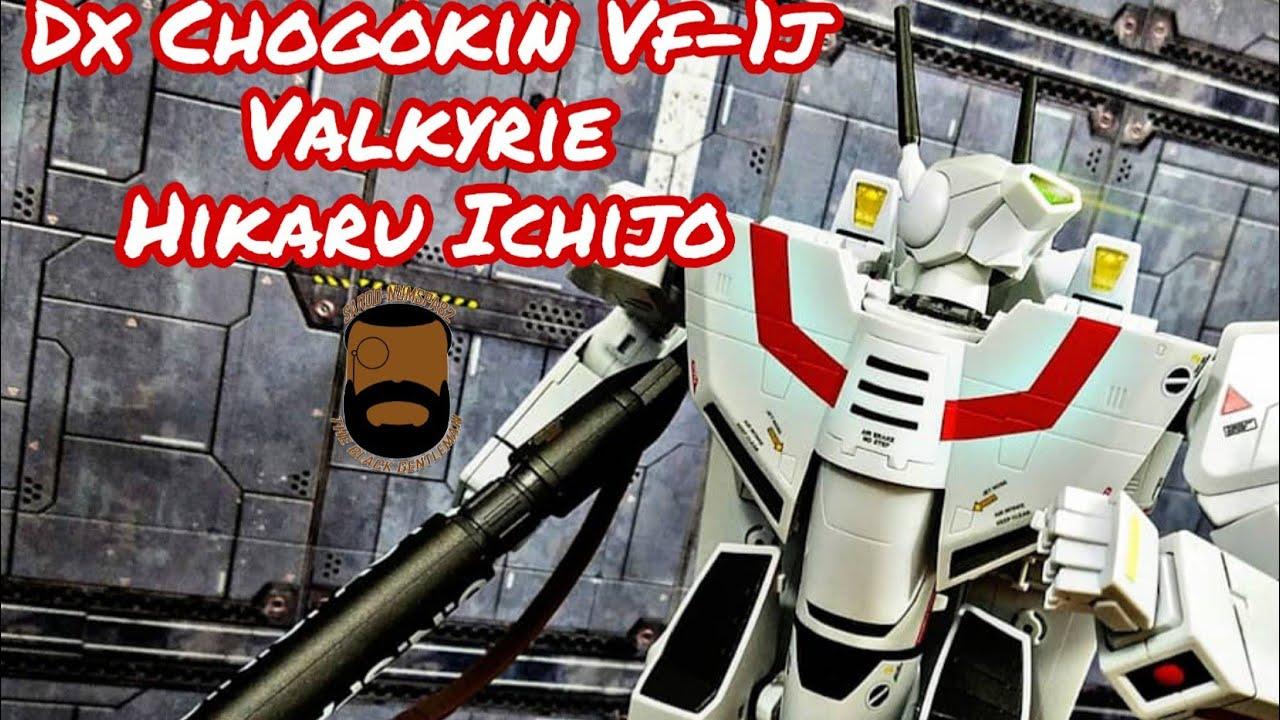 DX Chogokin VF-1J  Valkyrie Hikaru Ichijo Review by Sardo-numspa82