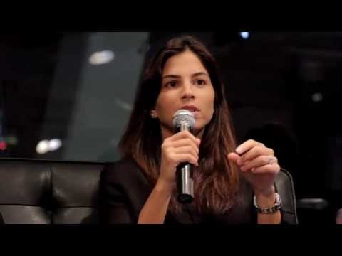 Loulou Khazen Baz (The Entrepreneur 2012 Winner) at Startup Grind Dubai