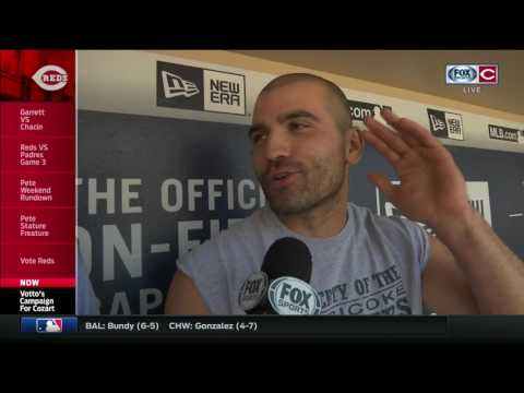 Reds' Joey Votto with an all-time entertaining interview