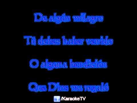 KARAOKE TV  Nelson Ned  Quien eres tu sin voz   no voice) - YouTube