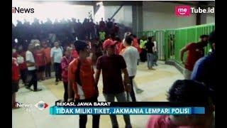 Download Video Rusuh Maksa Masuk!! Jakmania Bentrok dengan Polisi di Stadion Patriot Bekasi - iNews Pagi 07/09 MP3 3GP MP4