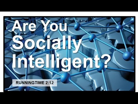 Are You Socially Intelligent?