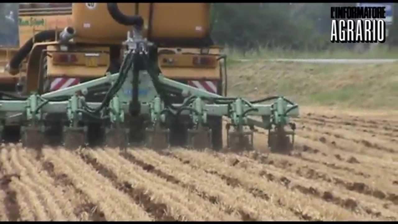 Distribuzione del digestato e preparazione del letto di semina youtube - Letto di semina ...