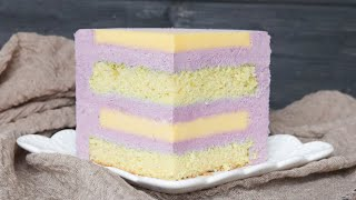 ЯРКИЙ и НЕЖНЫЙ ЛИМОННЫЙ ТОРТ с ЧЕРНИЧНЫМ МУССОМ Blueberry lemon cake recipe