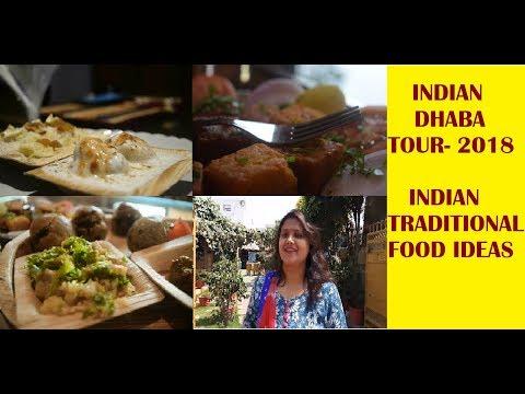 Indian dhaba / vegetarian restaurant tour/Indian traditional food ideas/Purabia rasoi Lucknow
